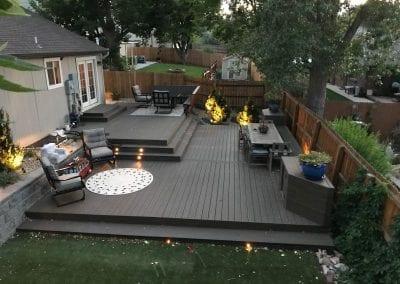 Backyard Deck Sunroom