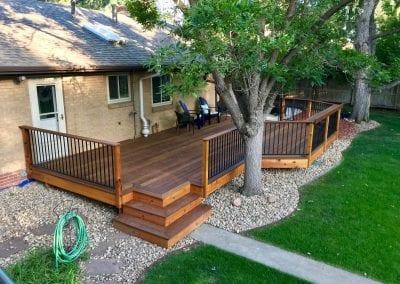 Cool Backyard Deck