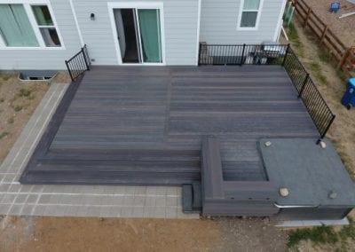 Flat Brown Deck