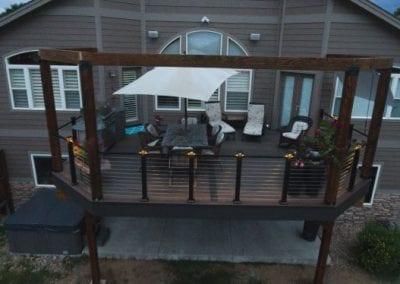 Outdoor Terrace Deck
